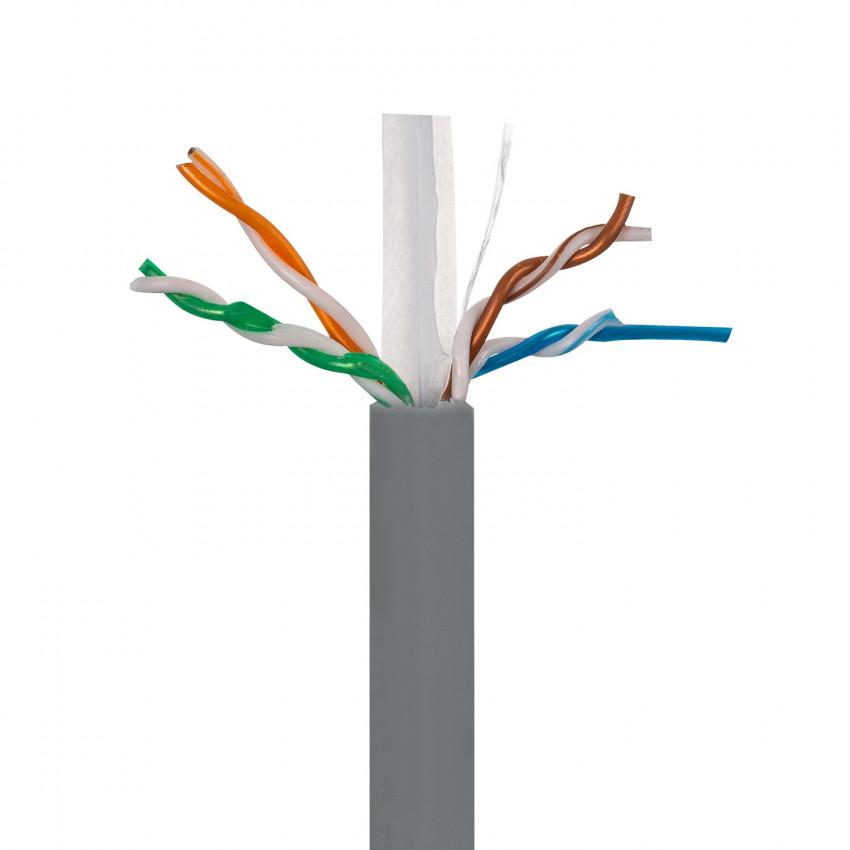 Cable de Red UTP CAT.6 Cobre Puro Libre de Halógeno 305m