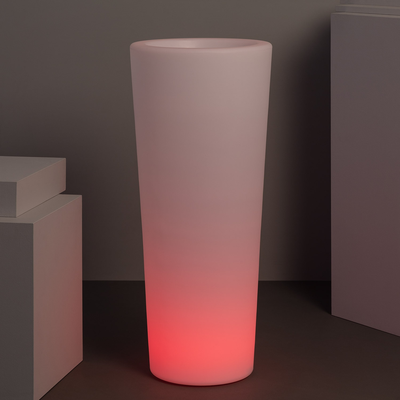 Macetero LED RGBW Recargable