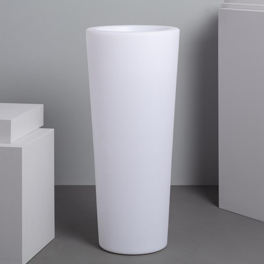 Vaso LED RGBW 95cm Recarregável