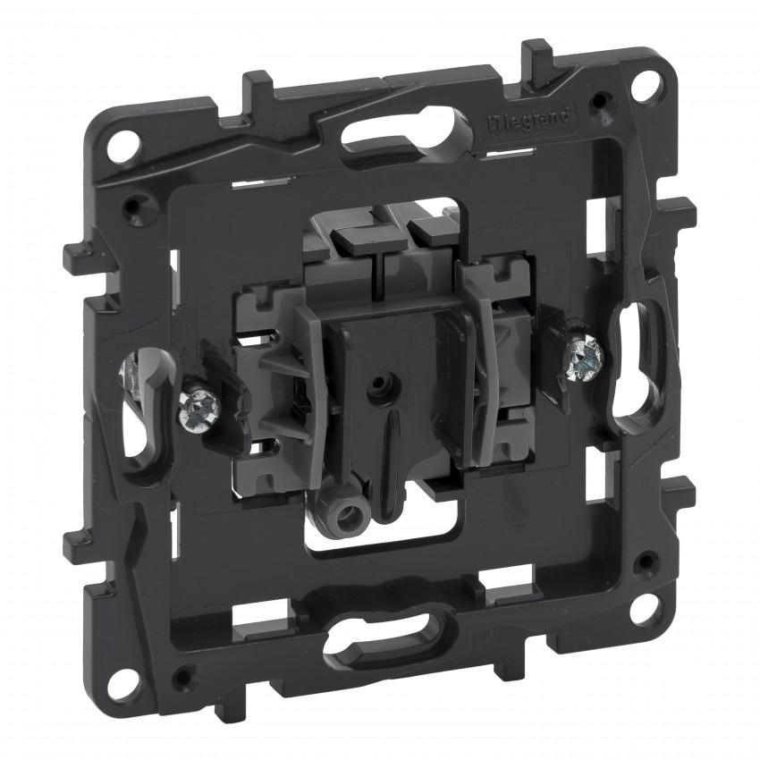 Mecanismo Interruptor Conmutador 10 AX 250V AC LEGRAND Niloé Step 864006