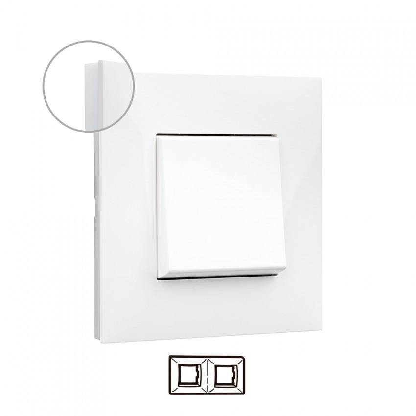 Placa Embelezadora 2 Elementos Blanco LEGRAND Valena Next 741002