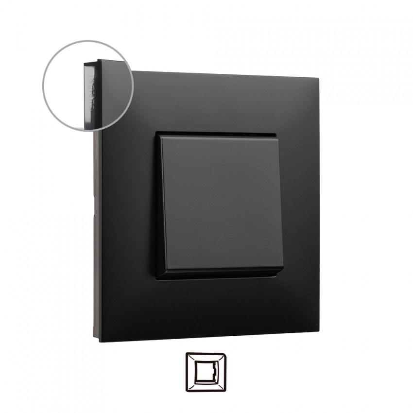 Placa Embelezadora 1 Elemento Dark LEGRAND Valena Next 741051