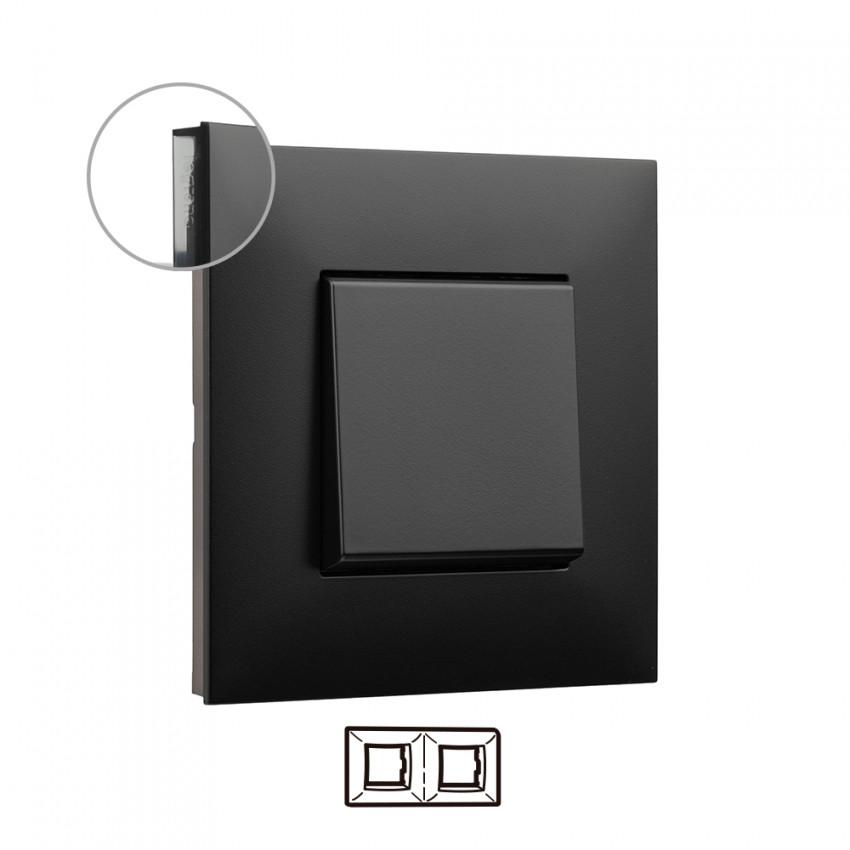 Placa Embelezadora 2 Elementos Dark LEGRAND Valena Next 741052
