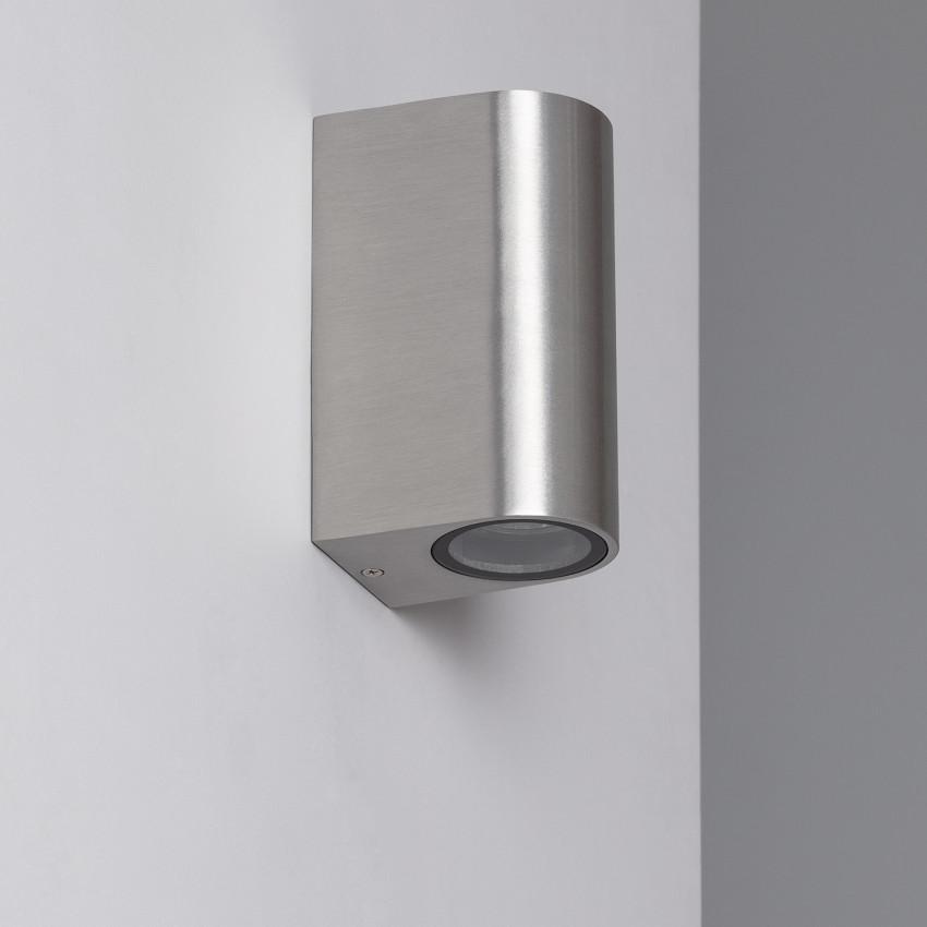 Aplique Big Gala Aluminio Iluminación Doble Cara