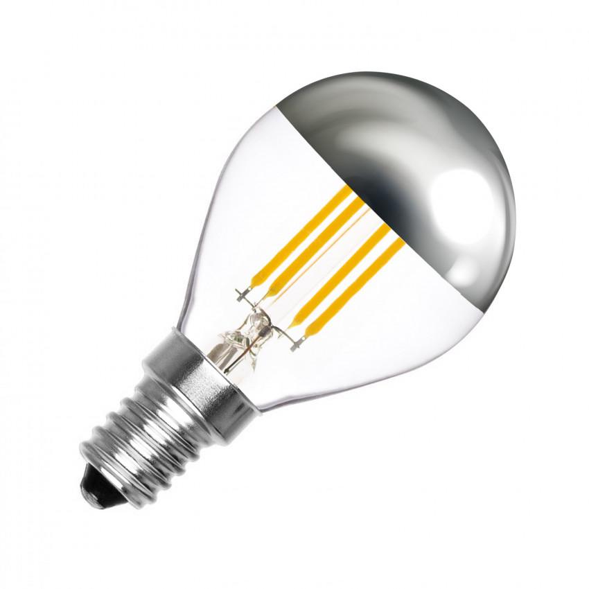 Lâmpada LED E14 Regulável Filamento Reflect G45 3.5W