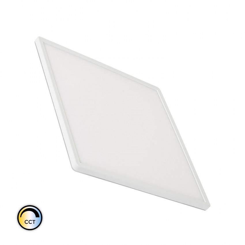 Plafón LED 24W Cuadrado CCT Seleccionable Doble Cara