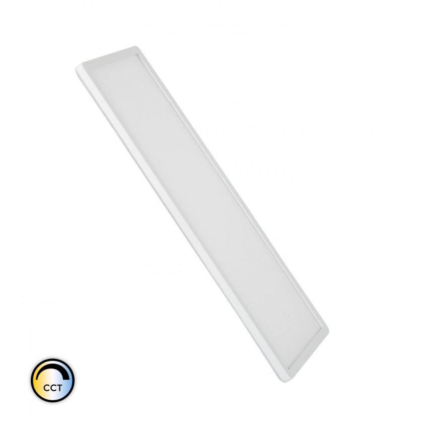 Plafón LED 24W Rectangular CCT Seleccionable Doble Cara