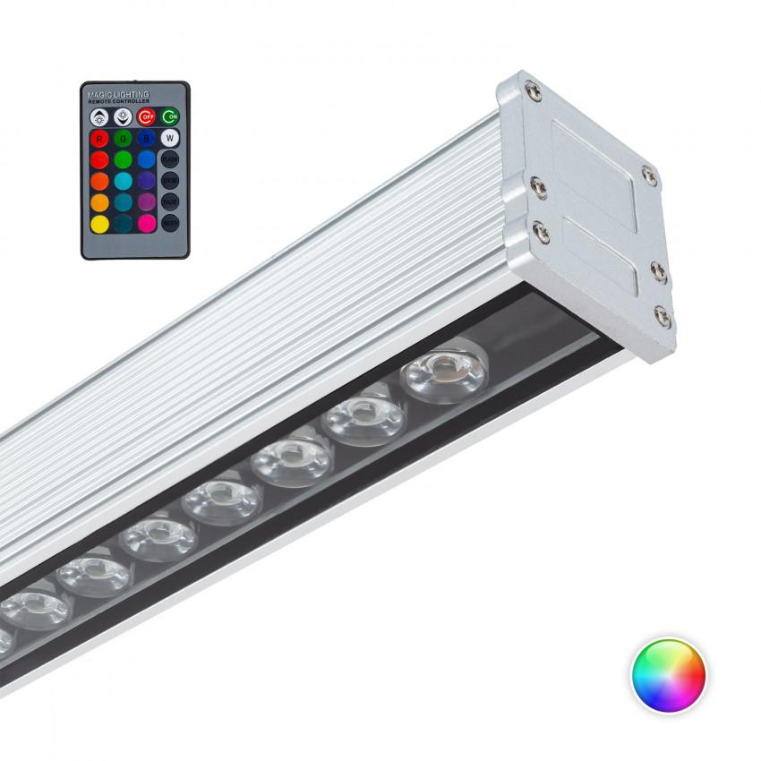 Luminária de Parede LED RGB 18W IP65 500mm
