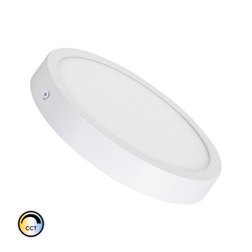 Plafón LED 18W Circular Superslim CCT Seleccionável