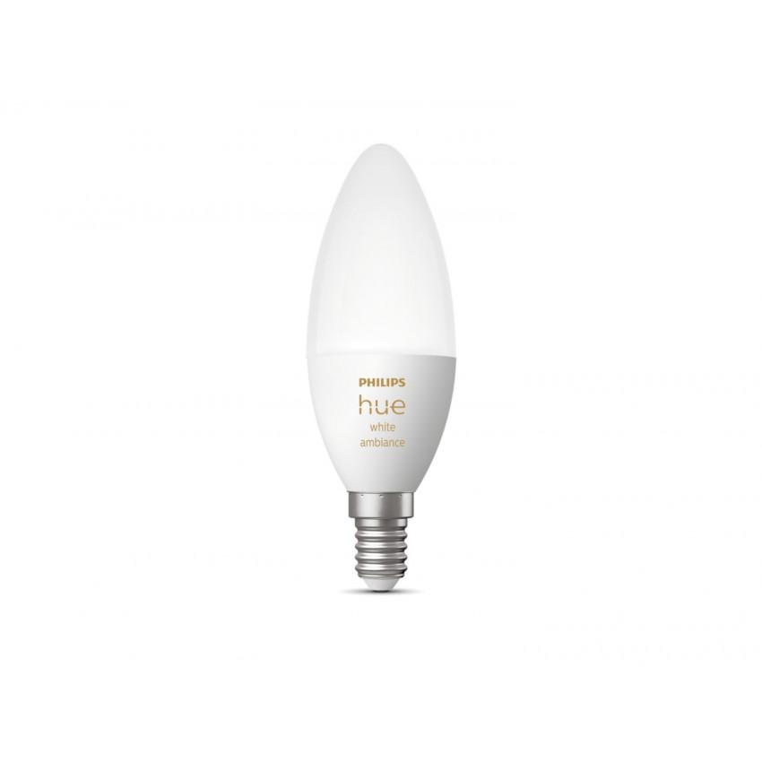 Lâmpada LED E14 White Ambiance B39 5.2W  PHILIPS Hue