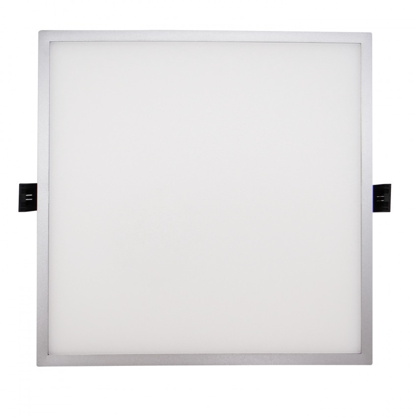 Placa LED 8W Quadrada Slim Surface (UGR19) LIFUD Cinzento Corte Ø75 mm