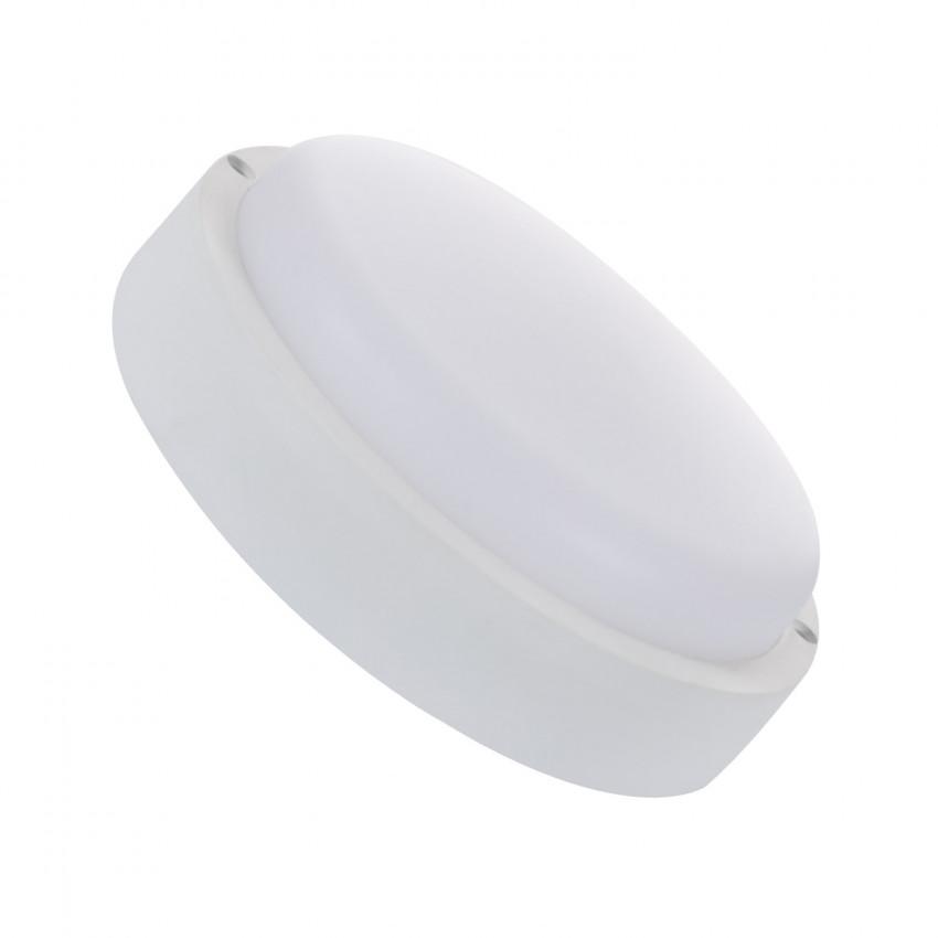 Plafón LED 25W Circular Hublot White com Detector de Movimento IP65