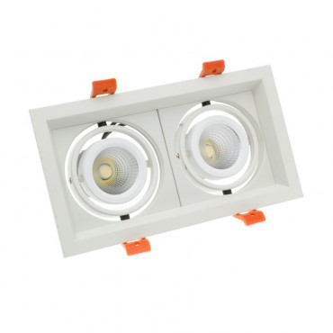Foco Madison LED Direccionable COB 2x10W