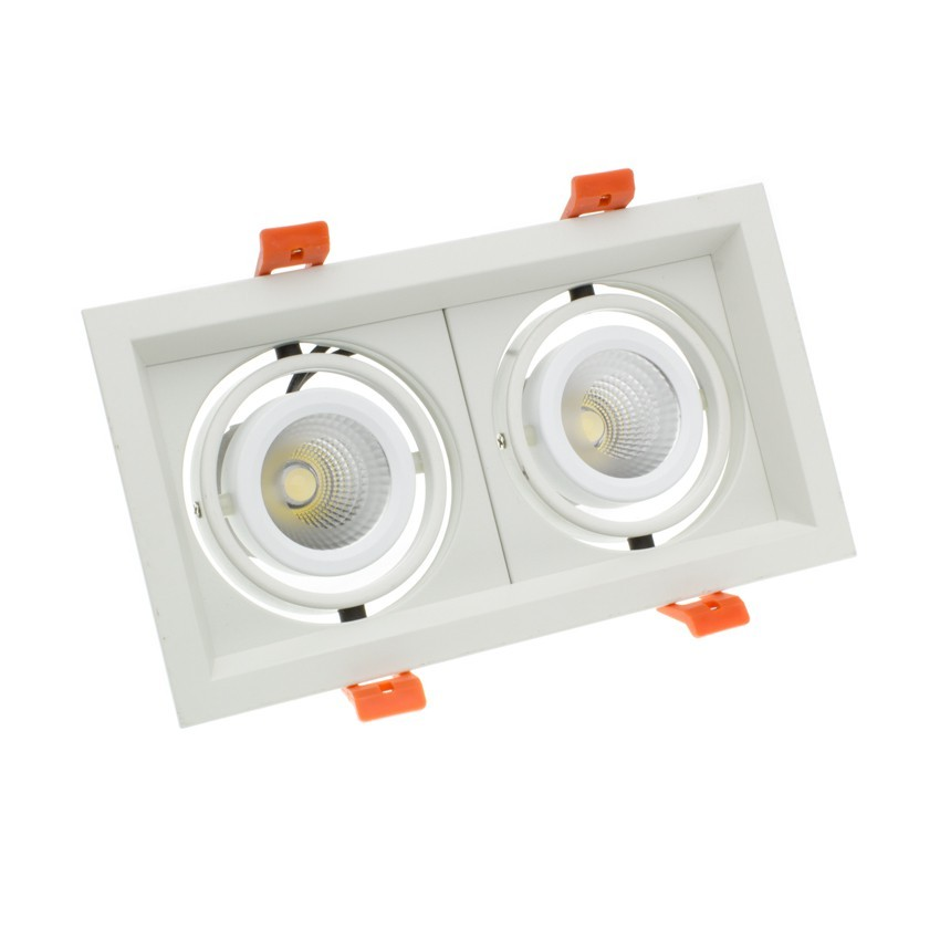 Foco LED CREE-COB Direccionable Madison 2x10W LIFUD (UGR 19)