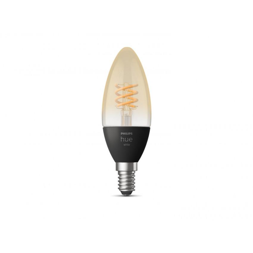 Lâmpada LED E14 Filamento White 4.5W B35 PHILIPS Hue Candle