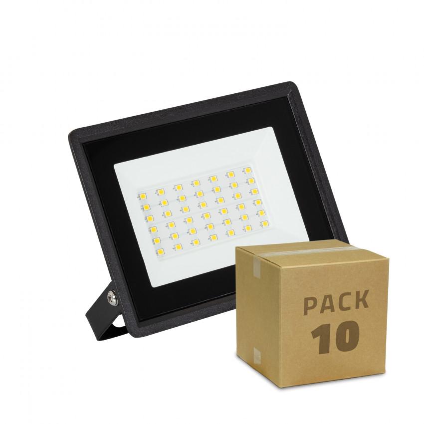 Pack Foco Projetor LED 30W Solid IP65 (10 un)