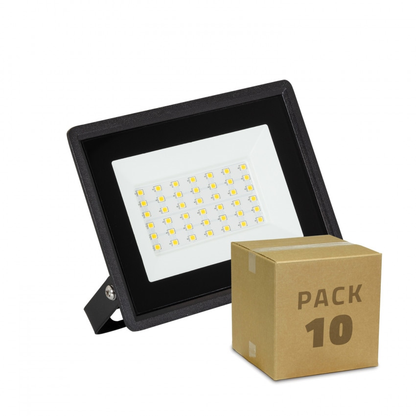Pack Foco Proyector LED 30W Solid IP65 (10 un)