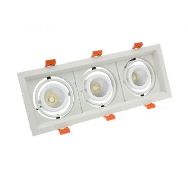 Foco Madison LED Direccionable COB 3x10W