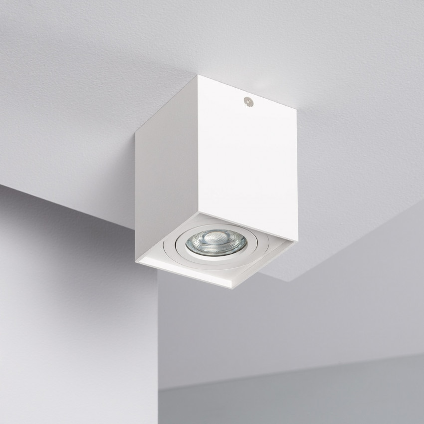 Aplique Techo Jaspe Aluminio Blanco