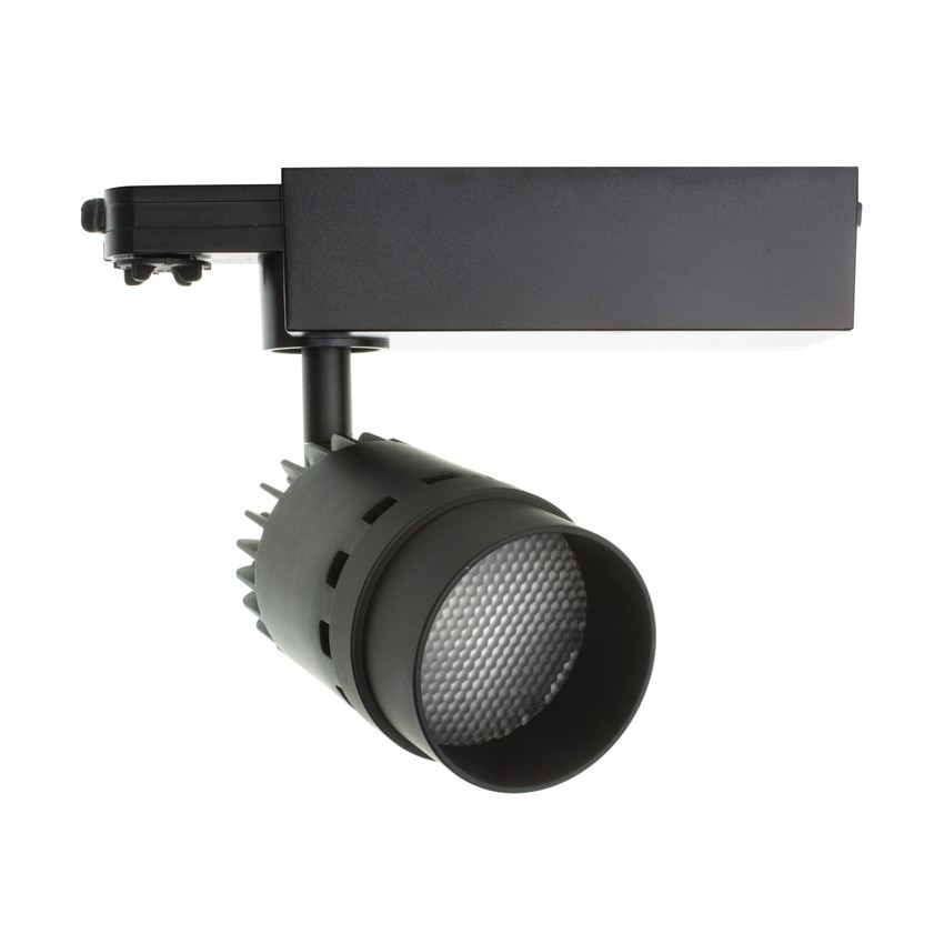 Foco LED Cannon para Carril Trifásico 20W Black