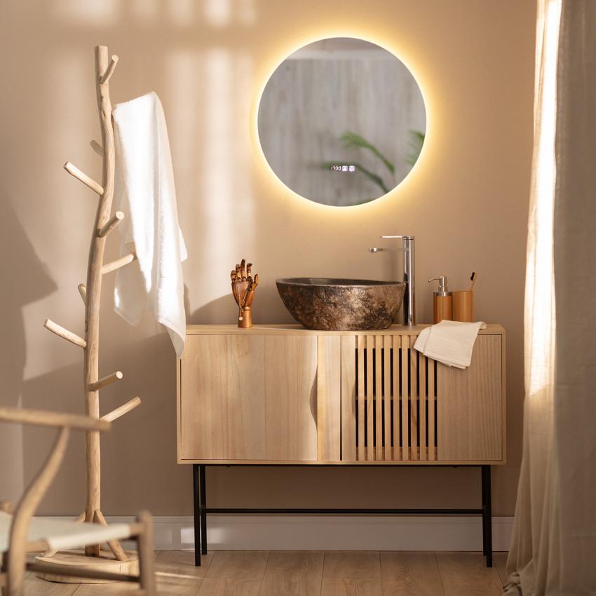 Espejo LED Antivaho Táctil Big Volpe Ø60 cm