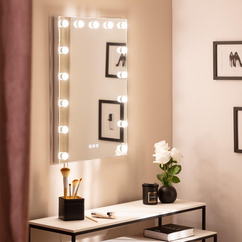 Espejo LED Táctil Essauira 70x50 cm