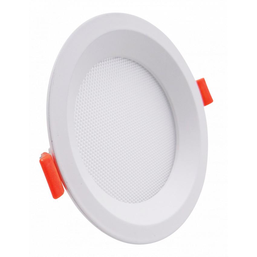 Placa LED 10W CCT Seleccionável Circular Slim LIFUD (UGR17) Corte Ø 110 mm