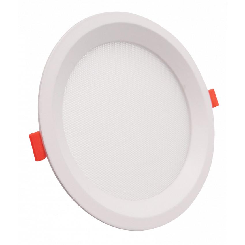 Placa LED 16W CCT Seleccionable Circular Slim LIFUD (UGR17) Corte Ø 150 mm