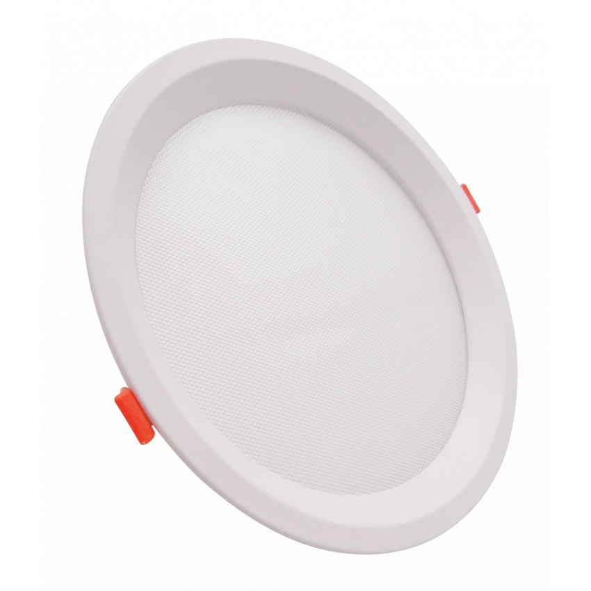 Placa LED 20W CCT Seleccionável Circular Slim LIFUD (UGR17) Corte Ø 205 mm
