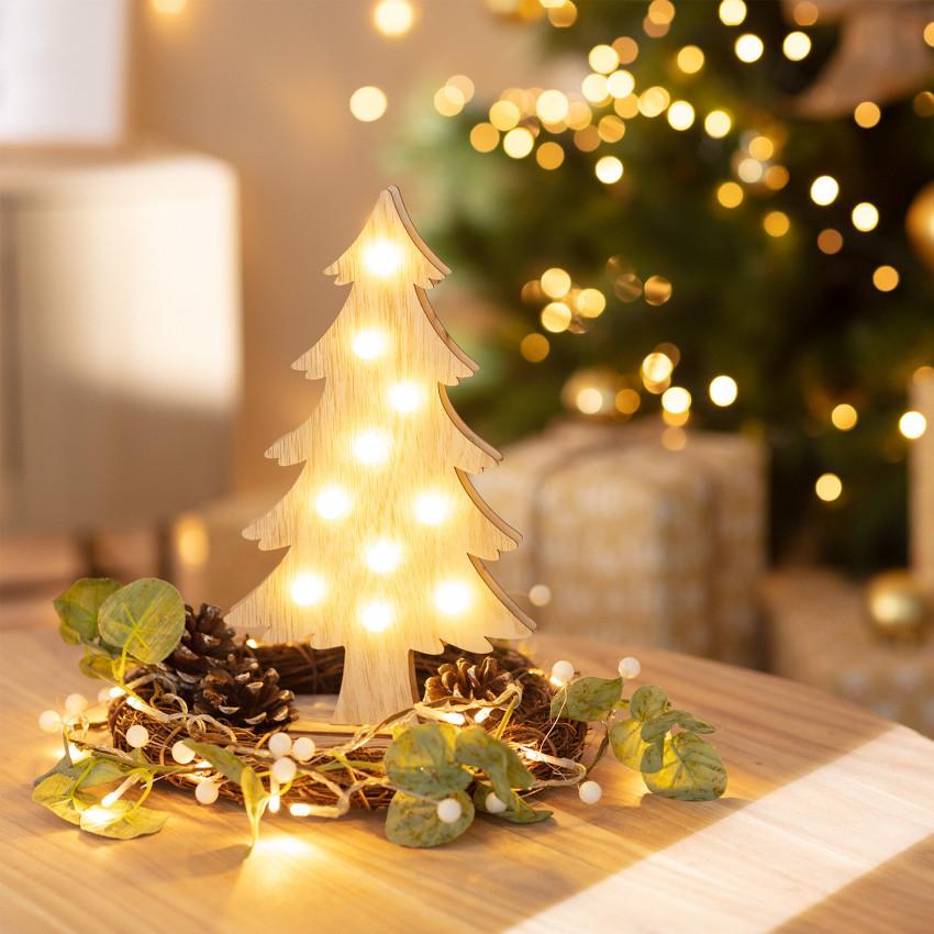 Árbol de Navidad LED Wood con Batería