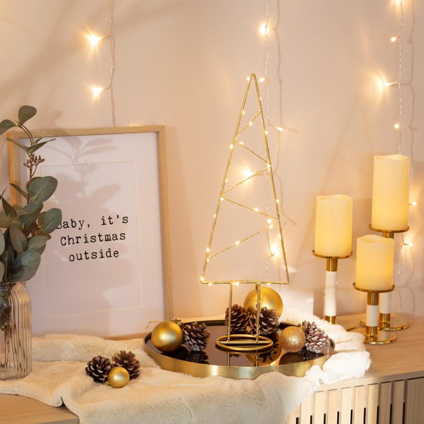 Árbol de Navidad LED Gold