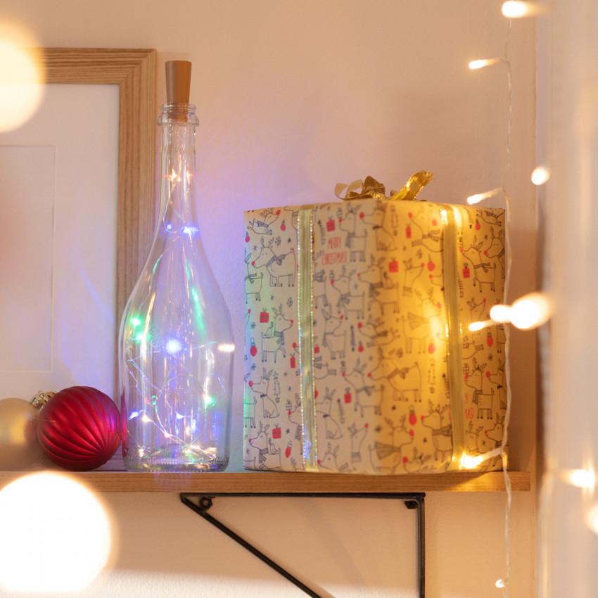 Grinalda Arame LED de Garrafa