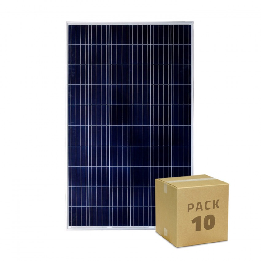 Pack Painel Solar FotoVoltaico Policristalino 275W Classe A (10 un)