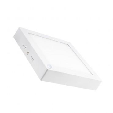 Placa Superfície LED Quadrada con Sensor PIR 18W