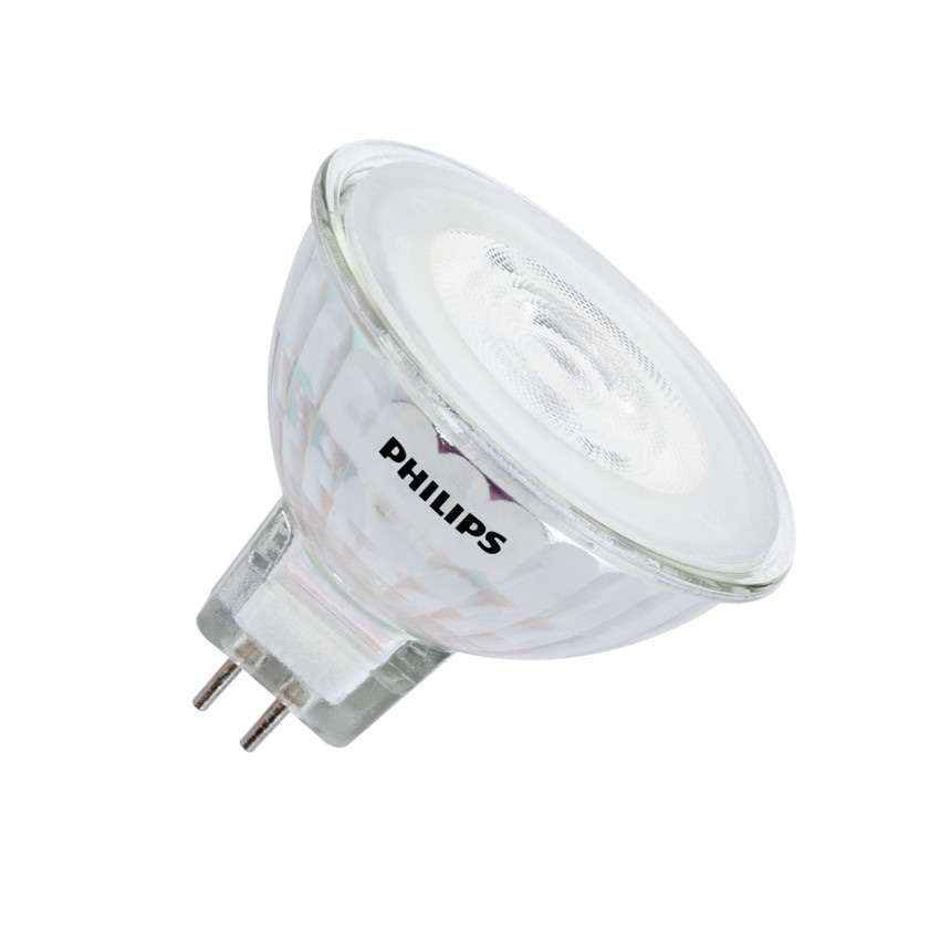 Bombilla LED GU5.3 MR16 12V Regulable PHILIPS SpotVLE 36º 7W