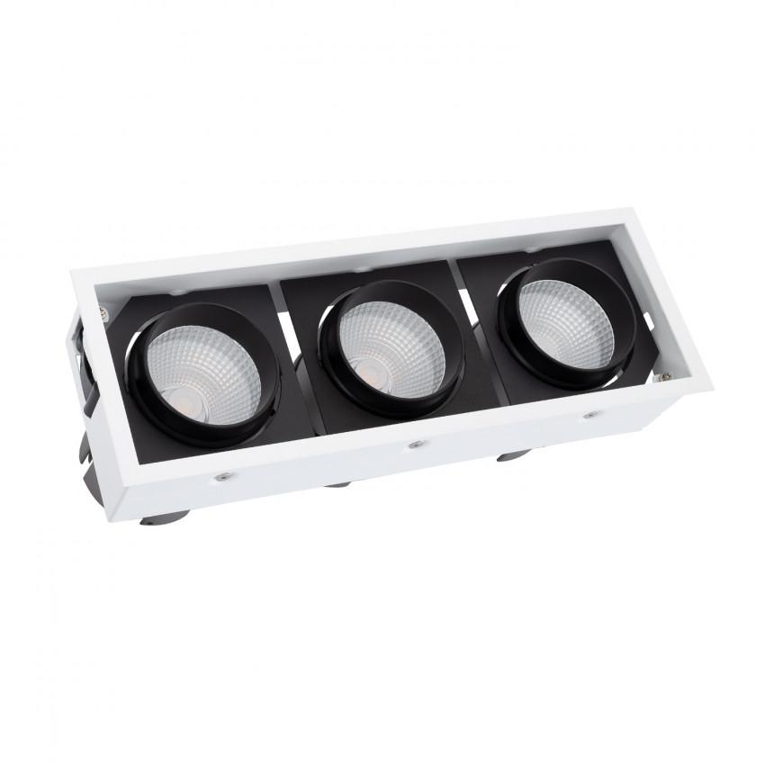 Foco LED COB Direccionável Kardan 90W LIFUD Corte 330x110 mm