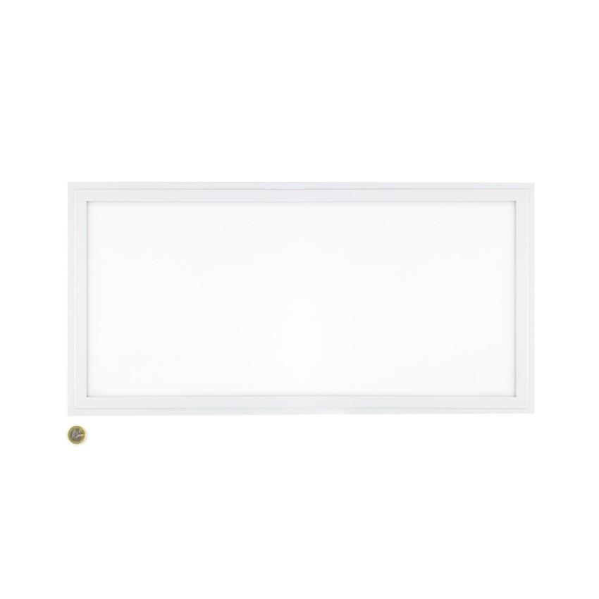 Panel LED Slim Emergencia 60x30cm 36W Marco Blanco