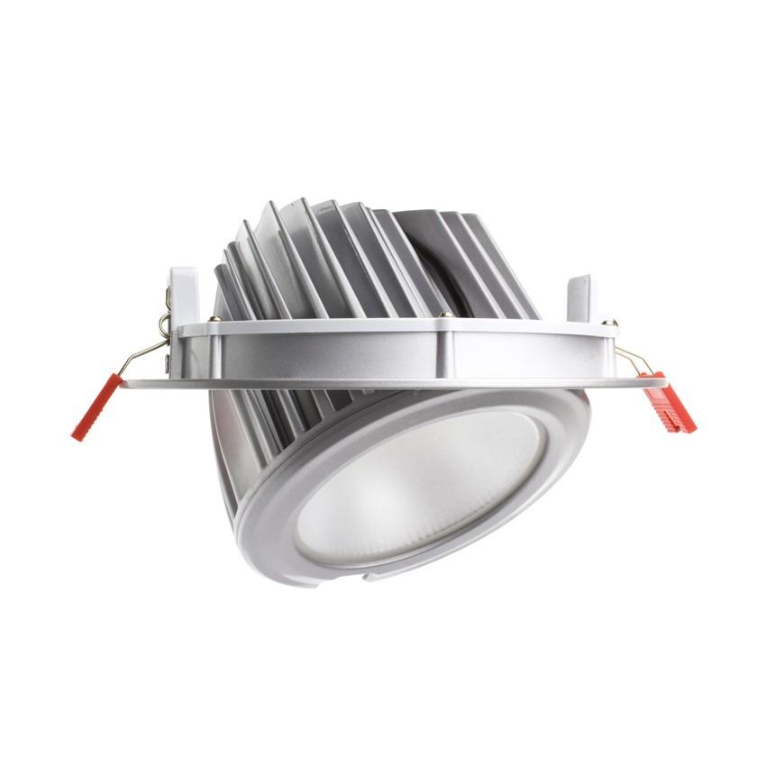 Foco Proyector Direccionable Circular LED 60W SAMSUNG 120lm/W Plata LIFUD