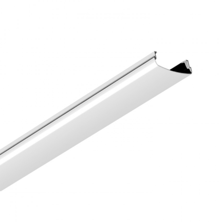 Difusor Branco para Carril de Barra Lineal LED Trunking 1500mm