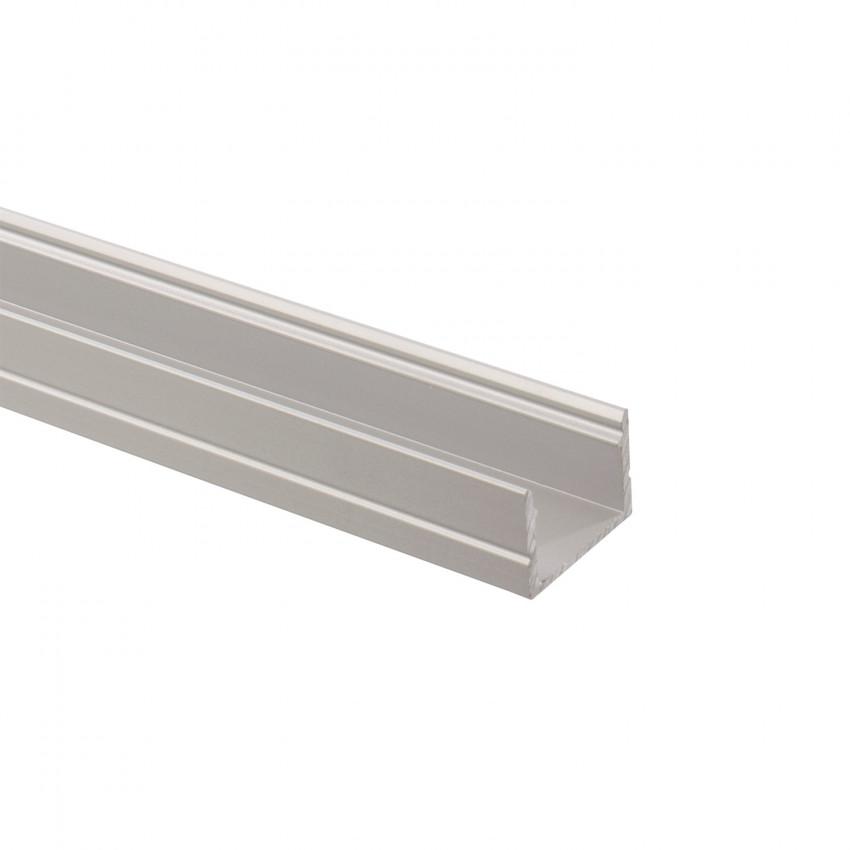 Perfil de Alumínio 1m para Fitas LED 220V Monocôr