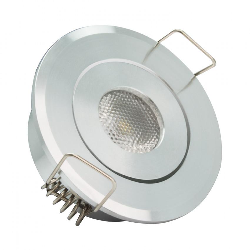 Foco LED Downlight Endereçável COB 1W